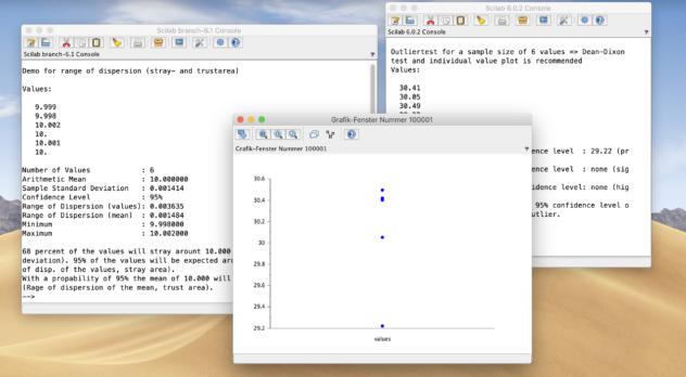 SampleSTAT screenshot
