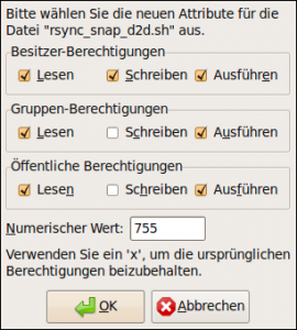 Dateiattribute von rsync_snap_d2d.sh (Filezilla)