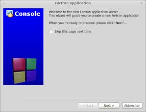 Code::Blocks - Skip info