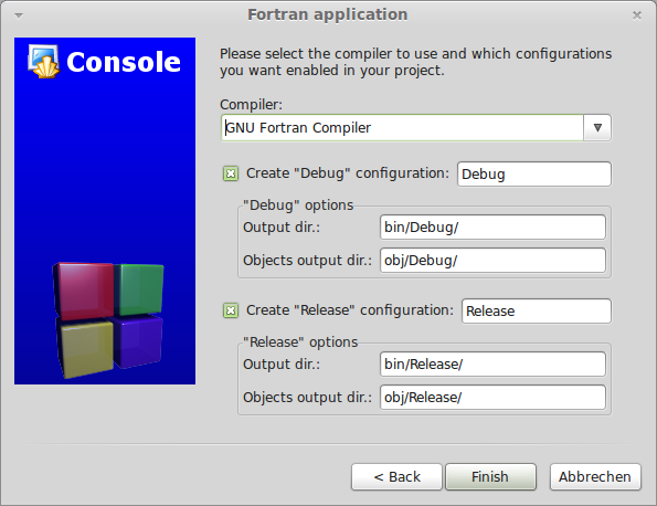 Install and Setup Code::Blocks for Fortran on GNU/Linux