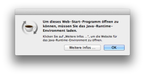 Java Webstart Error