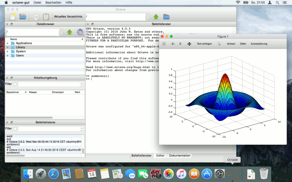 Octave 4 Screenshot