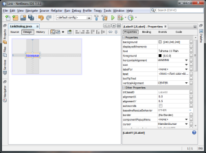 Screenshot Netbeans