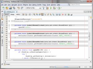 Netbeans Screenshoot