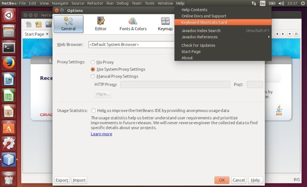 Netbeans Screenshot GTK Look and Feel after applying this how-to