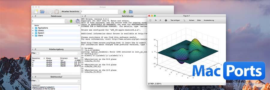 MacPorts' Octave4 on Sierra