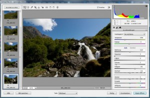 Adobe Camera Raw - German version
