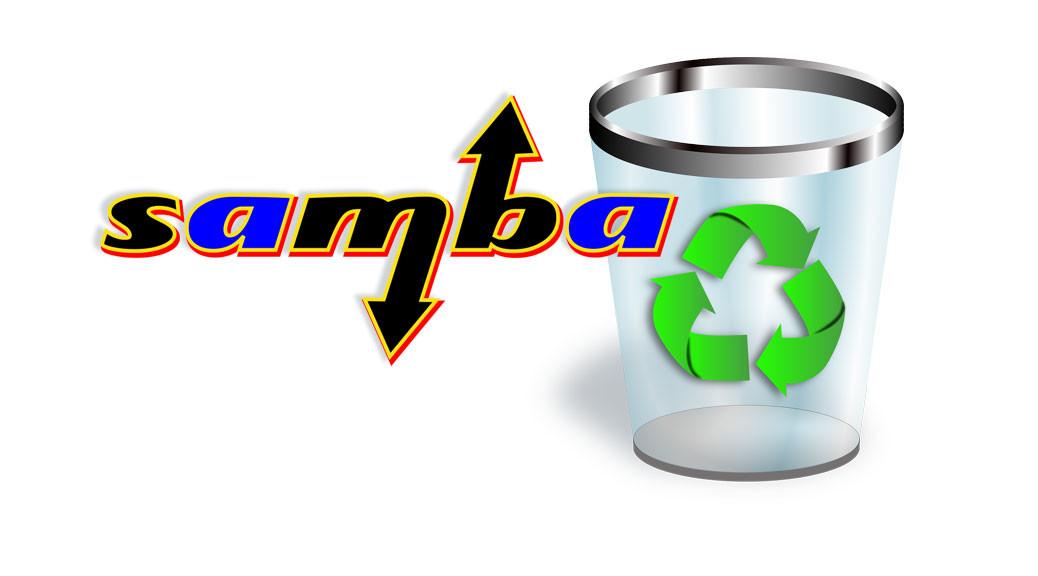 Samba-Papierkorb