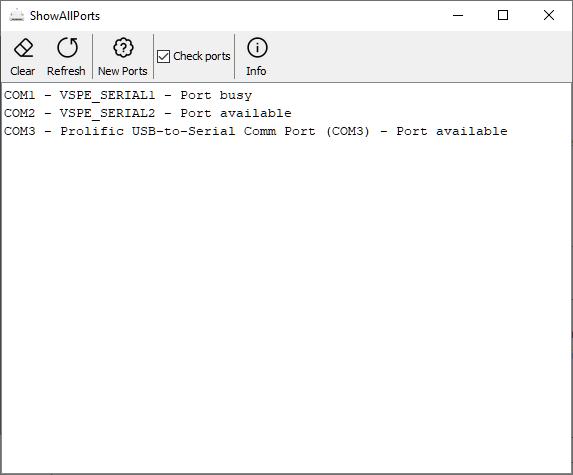 ShowAllPorts 2.0.0 @Windows®10
