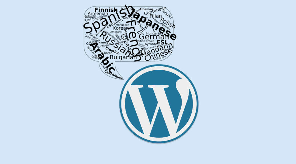 Wordpress Multilanguage