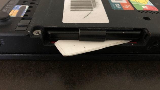 SSD klemmen